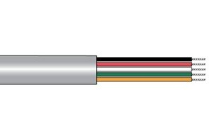Alpha Wire Communication and Control Cable, Multi-Conductor, Unshielded