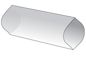 Alpha Wire FIT®-CLEAR Heat Shrink Tubing 2:1, XLPVDF